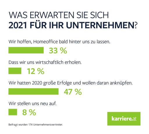 Berufliche Neujahrsvorsätze - Onlineumfrage B2C, karriere.at