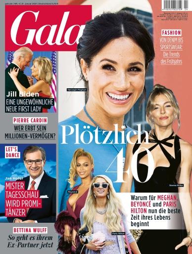 """GALA Cover 4/2021 (EVT: 21. Januar 2021) / Weiterer Text über ots und www.presseportal.de/nr/6106 / Die Verwendung dieses Bildes ist für redaktionelle Zwecke honorarfrei. Veröffentlichung bitte unter Quellenangabe: """"obs/Gruner+Jahr, Gala"""""""