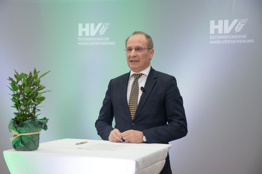 Dr. Kurt Weinberger, Vorstandsvorsitzender der Österreichischen Hagelversicherung
