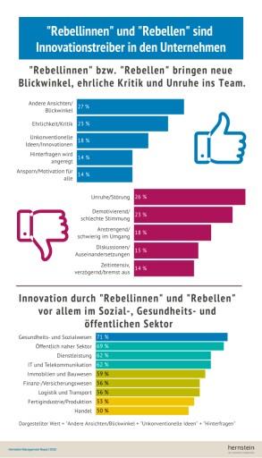 """""""Rebellinnen"""" und """"Rebellen"""" bringen frischen Wind in Unternehmen"""