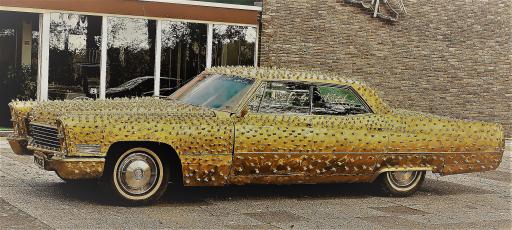 """J.P. Getty Cadillac by Heiko Saxo / Weiterer Text über ots und www.presseportal.de/nr/137307 / Die Verwendung dieses Bildes ist für redaktionelle Zwecke honorarfrei. Veröffentlichung bitte unter Quellenangabe: """"obs/Heiko Saxo Management"""""""