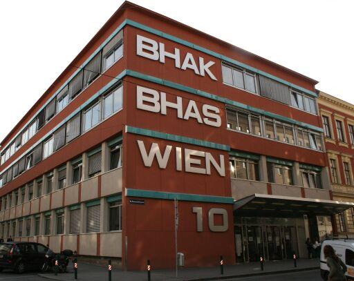 Schulgebäude BHAK BHAS Wien 10