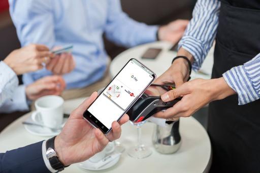 Bezahlung mit Edenred Ticket Restaurant® Karte und Google PayTM