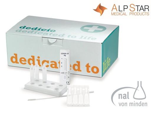 ALPSTAR bringt mit dem dedicio® COVID-19 Ag plus Schnelltest den ersten Antigen-Schnelltest der neuesten Generation für die Heimanwendung nach Österreich.