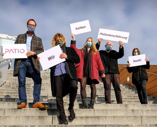 PATIO-Team. Pressefoto, Abdruck frei. ©navigamus