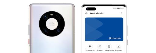 """Huawei Bluecode"": Huawei startet mit Bluecode Mobile-Payment-Lösung in Österreich"