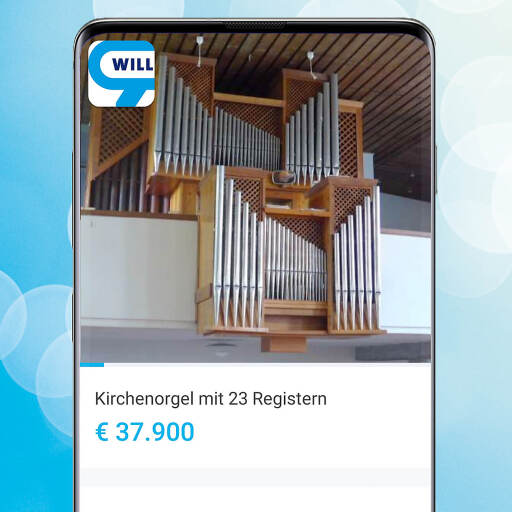 Klingende willhaben-Anzeige: Pfarrgemeinde Rosenau verkauft Kirchenorgel