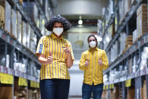 Die IKEA Einrichtungshäuser dürfen am 8. Februar wieder ihre Tore für KundInnen öffnen.