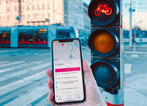Die wegfinder App bietet einheitliche, intuitive Buchungs- und Zahlungsvorgänge für alle Mobilitätsangebote in Österreich.