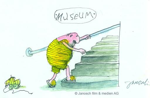 Satirische Highlights und der Superstar von Janosch im Karikaturmuseum Krems