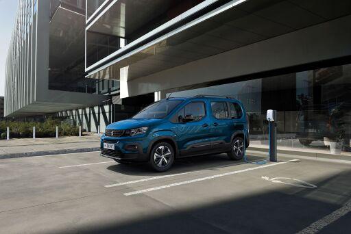 PEUGEOT e-Rifter - 100% Elektroauto
