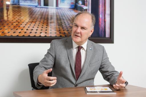 Thomas Gindele, Hauptgeschäftsführer der Deutschen Handelskammer in Österreich