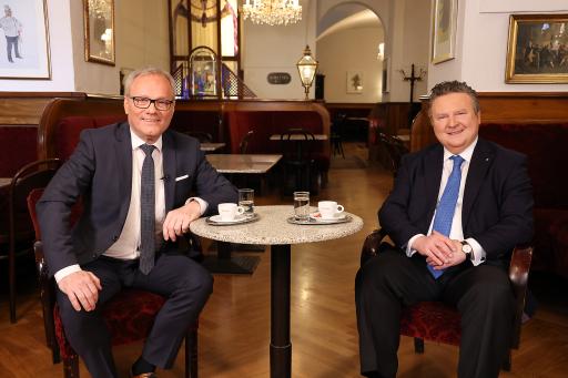 Paul Tesarek und Michael Ludwig