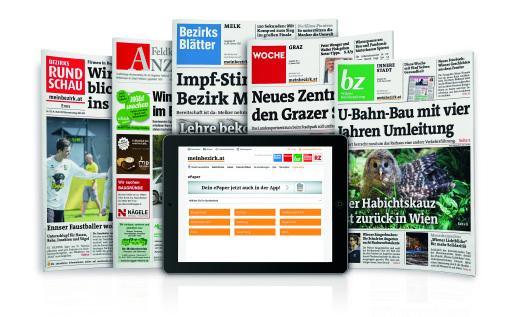Die regionalen Wochenzeitungen der RMA.