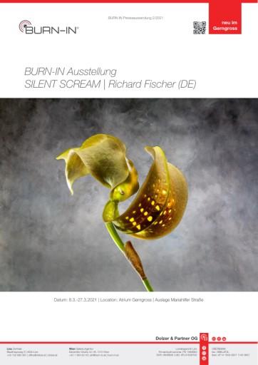 BURN-IN Ausstellung SILENT SCREAM mit Richard Fischer im Traditionskaufhaus Gerngross
