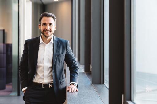 VRG Geschäftsführer Patrick Rezazadeh