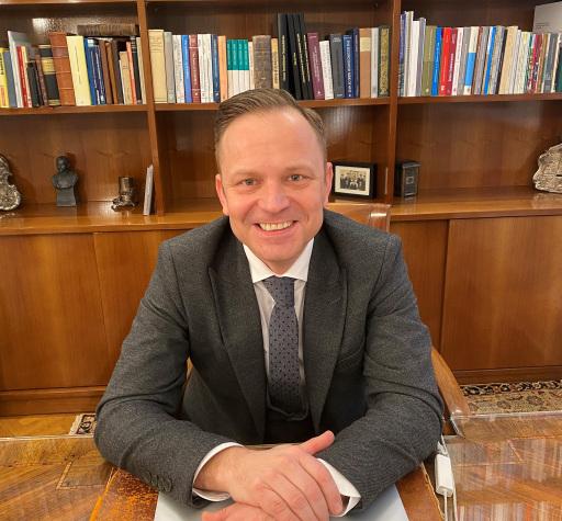 Präsident der Jüdischen Gemeinde Graz - Vizepräsident der Israelitischen Religionsgesellschaft