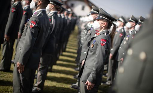 654 neue Unteroffiziere für das Bundesheer