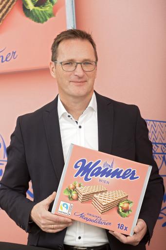 Josef Manner & Comp. AG;..Mag. Andreas Kutil, Vorstandsvorsitzender;..Photo: Manner / Noll