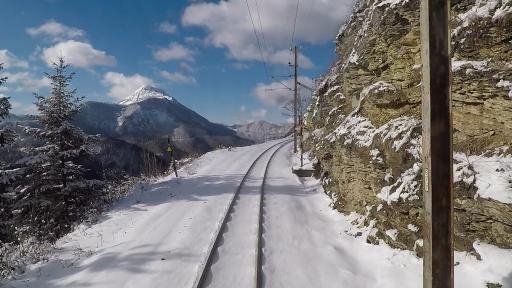 Nachtexpress Mariazellerbahn Bergstrecke