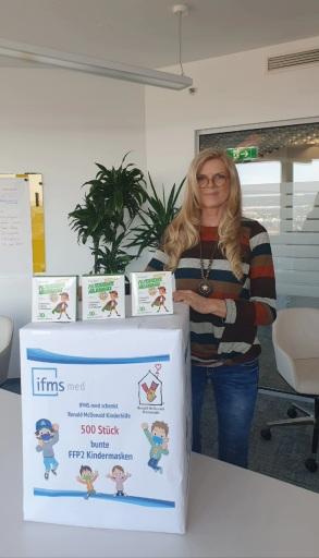 Karin Schmidt, Vorstand der Ronald McDonald Kinderhilfe Österreich