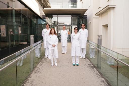 Gewinner des Join4Care Awards aus der Abteilung für allg. HNO, Universitätsklinikum Graz