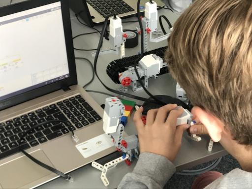 Robotik Camps in Wien, Mödling und Podersdorf