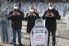 """""""Von Beruf Mensch"""": Ärztekammer und Gewerkschaften fordern mehr Menschlichkeit für das öffentliche Gesundheitssystem"""