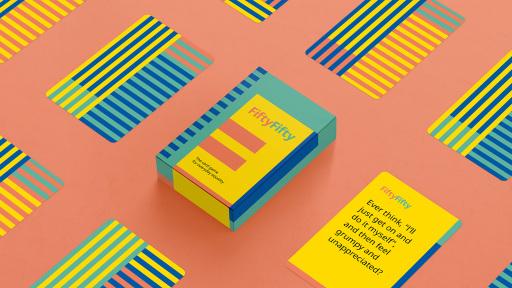 """Anlässlich des Weltfrauentags am 8. März veröffentlicht IKEA das Online-Kartenspiel """"FiftyFifty"""", das in Zusammenarbeit mit der britischen Beziehungsberaterin Jennie Miller entwickelt wurde."""