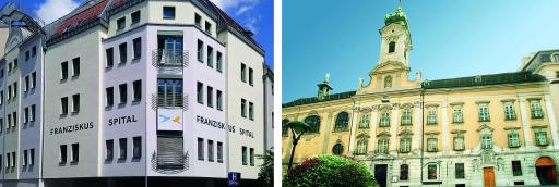 Franziskus Spital Margareten & Franziskus Spital Landstraße