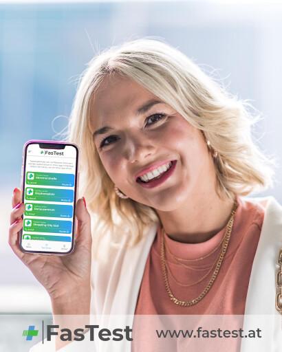 FasTest App setzt auf die Freiwilligkeit der User.