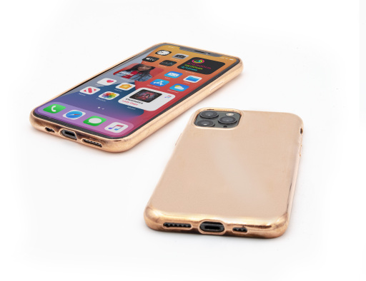 Beispiel für die antivirale Kupferbeschichtung einer Handy-Hülle