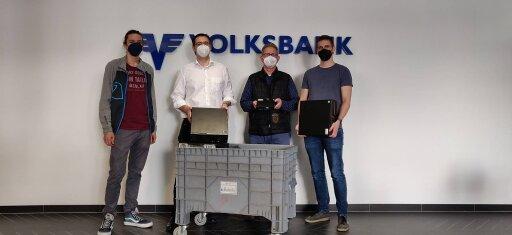 Das Volksbank Wien IT Team