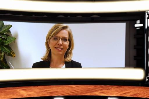 CSR Guide 2021 Online-Präsentation – im Bild Leonore Gewessler (Bundesministerin für Klimaschutz, Umwelt, Energie, Mobilität, Innovation und Technologie)