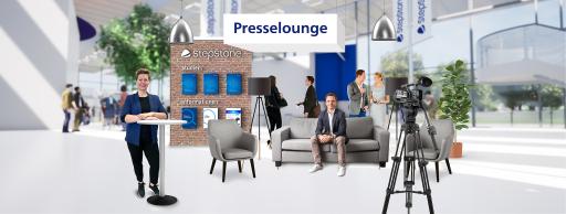 Presselounge bei der Your Next Step - dem Online Karriereevent von StepStone