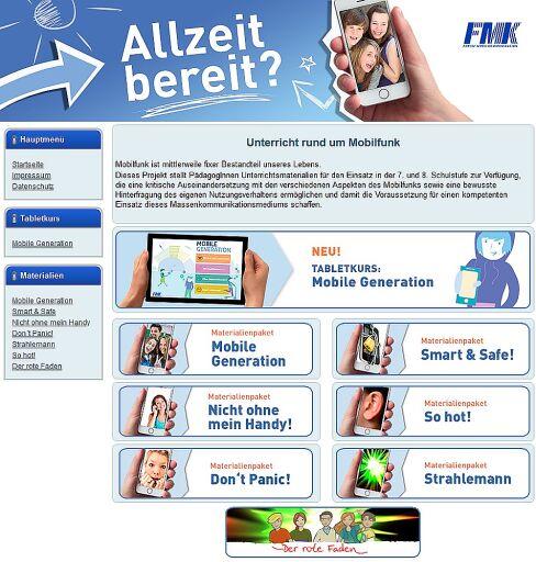 """Umfangreiches Unterrichtsmaterial zum Themenkreis """"Digitale Kompetenz"""" unter www.lehrer.at"""