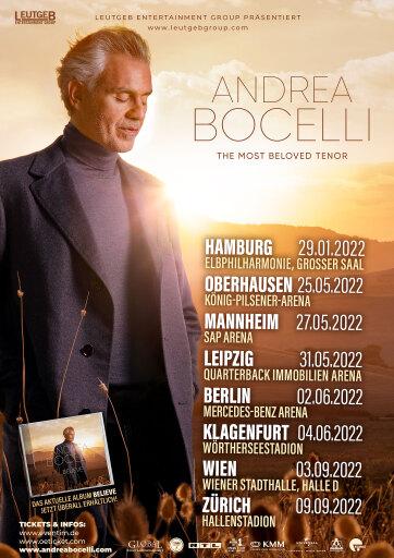 Andrea Bocelli Verschiebung
