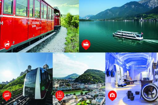 Die 5 Attraktionen der Salzburg AG Tourismus