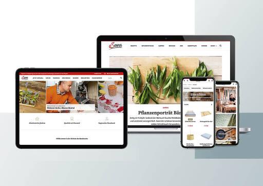 """Red Bull Media House Publishing hat den Online-Auftritt der Medienmarke """"Servus"""" einer Rundumerneuerung unterzogen."""