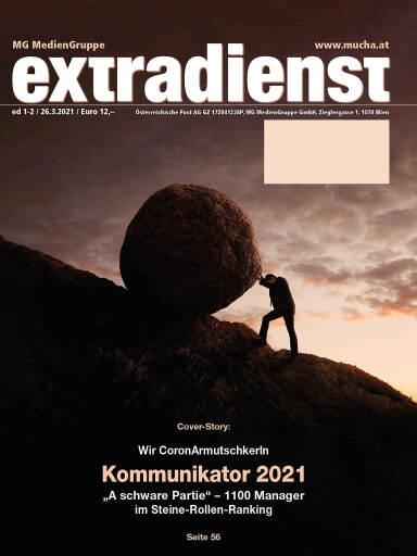 Cover der aktuellen ExtraDienst-Ausgabe 1-2/21