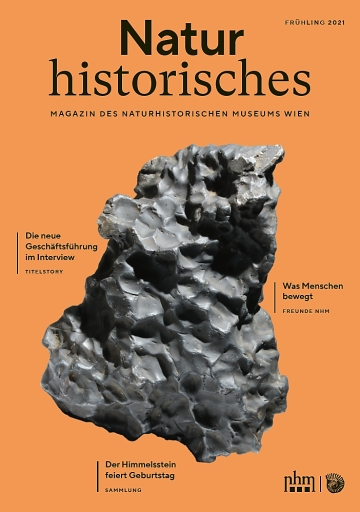 "Cover des Magazins ""Naturhistorisches"""