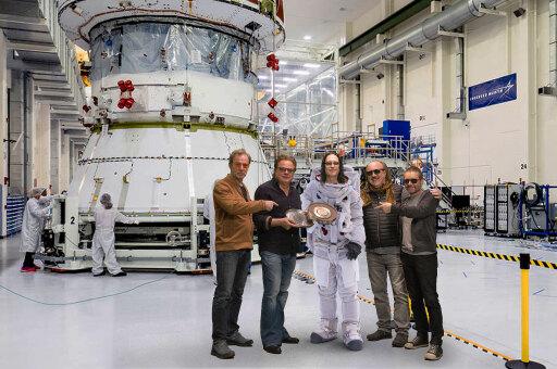 OPUS Platin-Single für Mars-Mission
