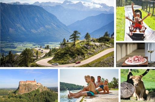 Gratis-Eintritt bei 162 Ausflugszielen, 30 % Rabatt bei 25 Bonuspartnern. Alle Infos auf www.steiermark-card.net