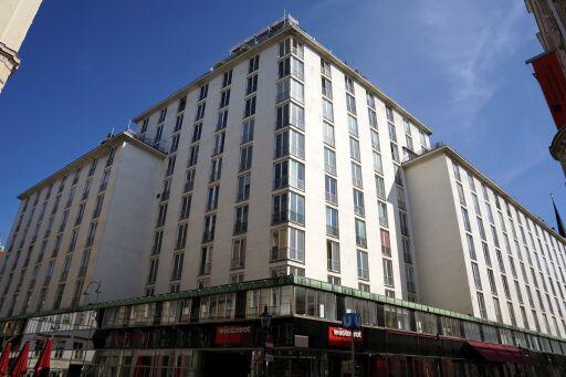 Der neue Bürostandort der Czako Partner GmbH befindet sich im bekannten Hochhaus Herrengasse in 1010 Wien.