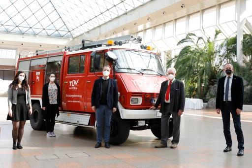 Der TÜV AUSTRIA Brandschutztag fand am 25.03.2021 in der Pyramide Vösendorf statt.