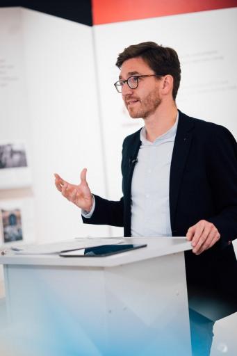 Patrick Siegele wird ab 1. Juni 2021 neuer Geschäftsführer von _erinnern.at_, dem Institut für Holocaust-Education des BMBWF.