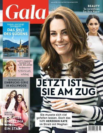 Cover GALA 15/21 (EVT: 8. April 2021) / Weiterer Text über ots und www.presseportal.de/nr/6106 / Die Verwendung dieses Bildes ist für redaktionelle Zwecke unter Beachtung ggf. genannter Nutzungsbedingungen honorarfrei. Veröffentlichung bitte mit Bildrechte-Hinweis.