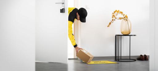 Post, A1 und Nuki machen es möglich: Durch die Vorzimmer-Zustellung können Pakete direkt zuhause abgestellt werden