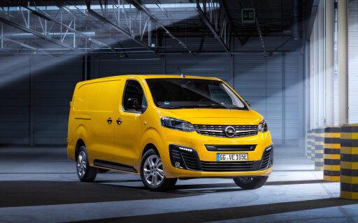 Opel Vivaro-e Elektronutzfahrzeug