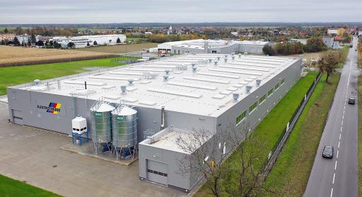Das 3. Austrotherm EPS-Dämmstoffwerk nahm in Grodków/Polen den Betrieb auf. BILD zu OTS -